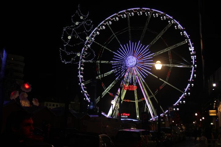 Brussels Christmas Market Ferris Wheel