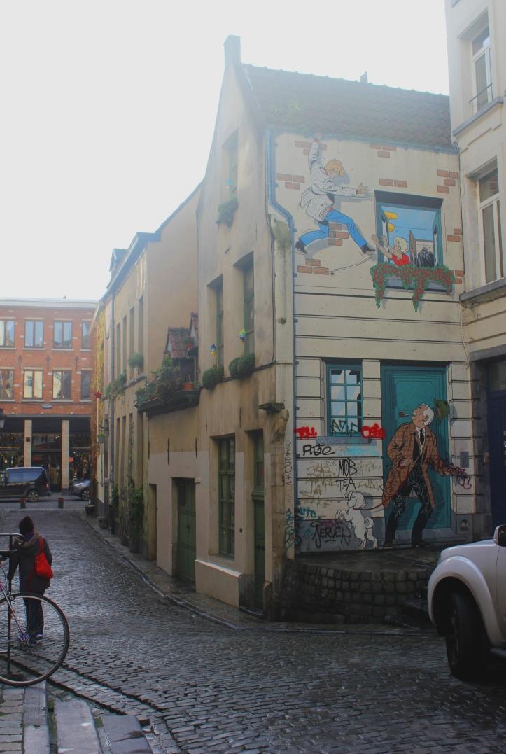 Brussels Comic Strip Walls 2