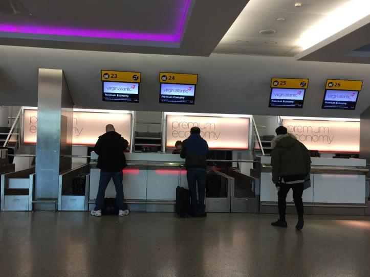 Virgin Atlantic Check in