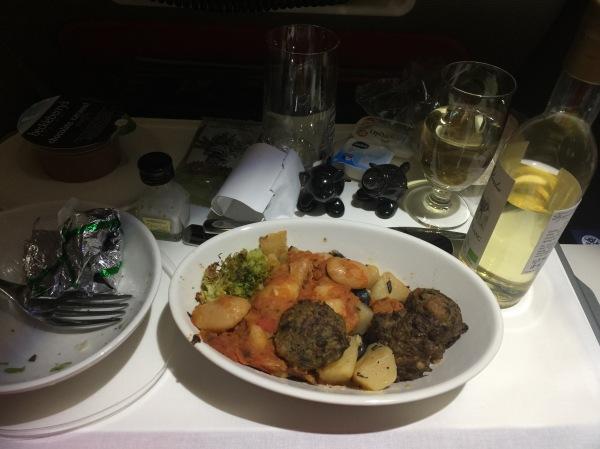 Virgin Atlantic food