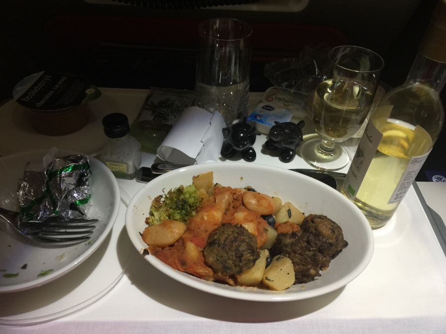 Virgin Atlantic food
