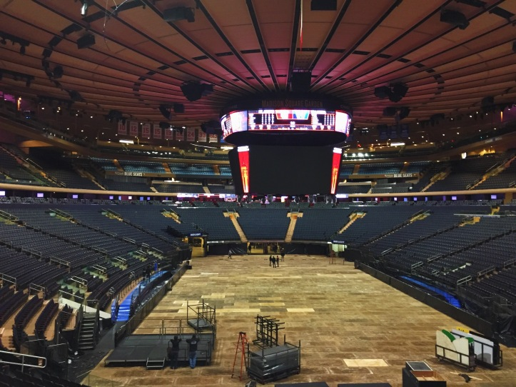 Madison Square Garden Tour 1