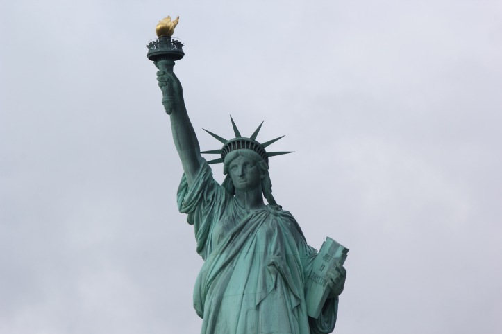 Statue of Liberty close up