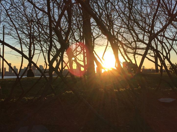 Sunset of the Hudson 1