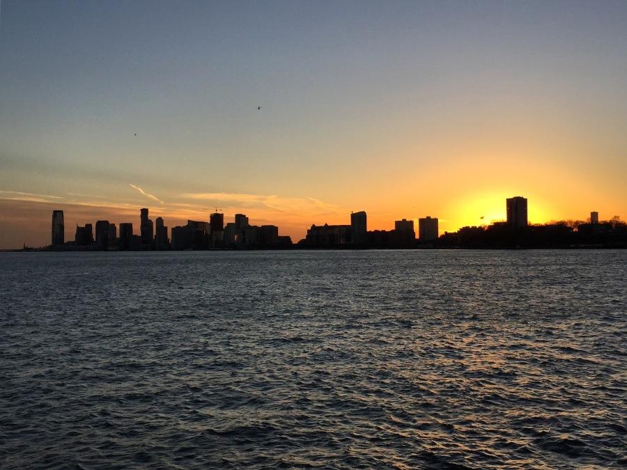 Sunset over the Hudson 2